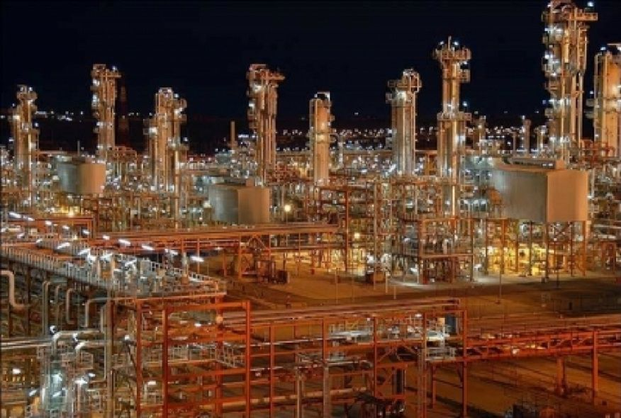 Padideh Banan Fields of Activity Gas Refineries Phase 19 of South Pars
